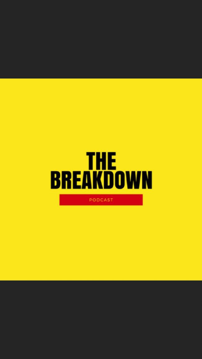 the breakdown podcast logo