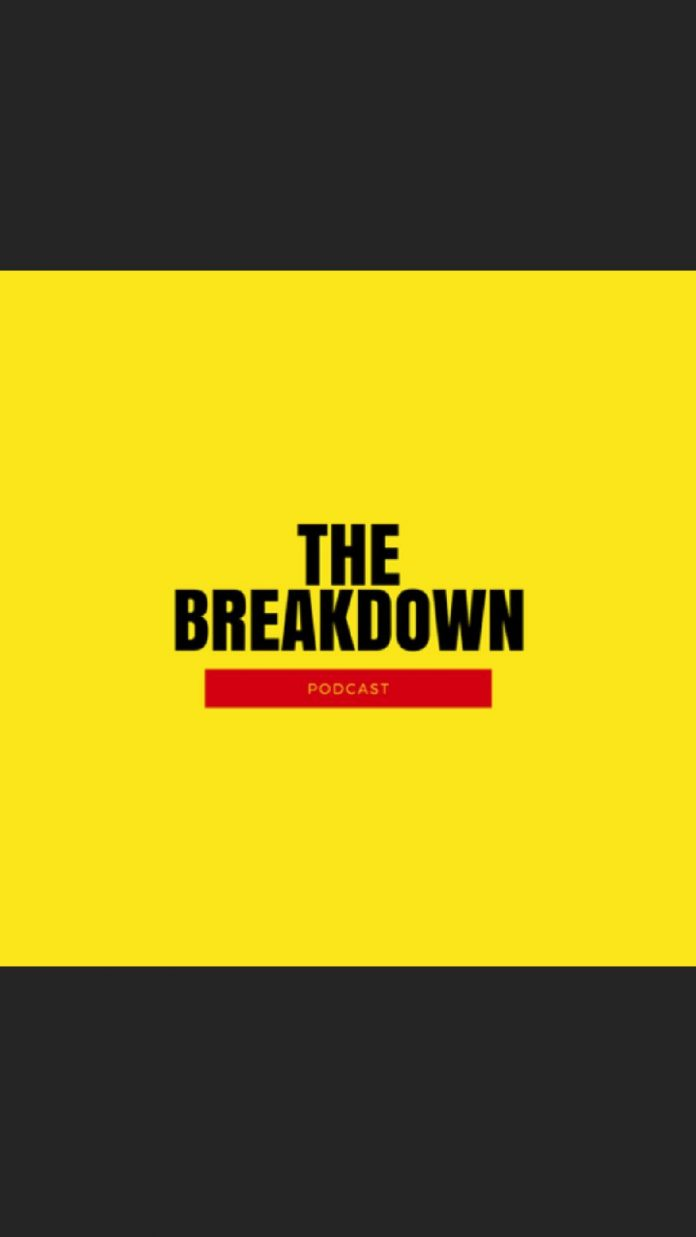 the breakdown podcast logo