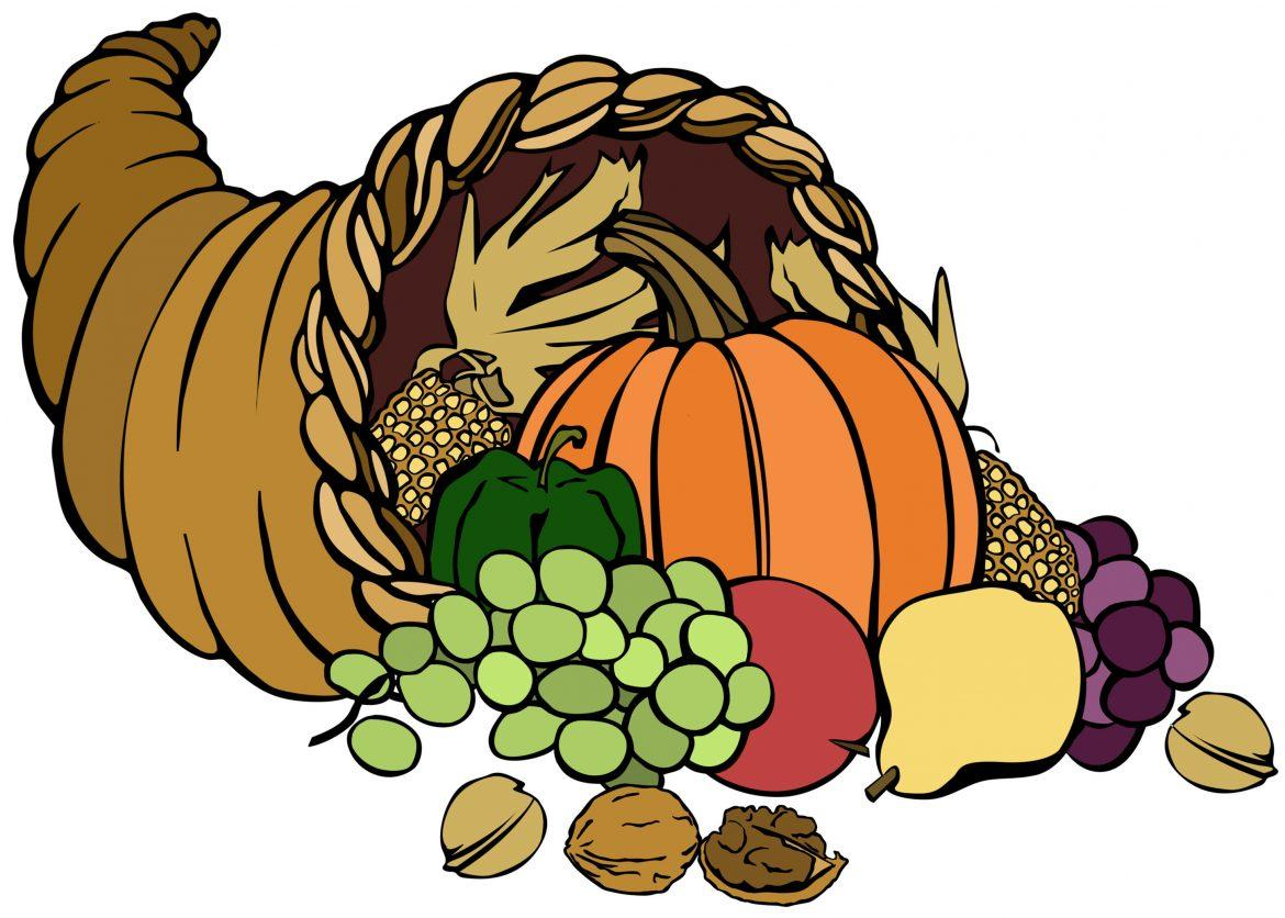 Thanksgiving+harvest+basket+with+assorted+fruits+and+vegetables