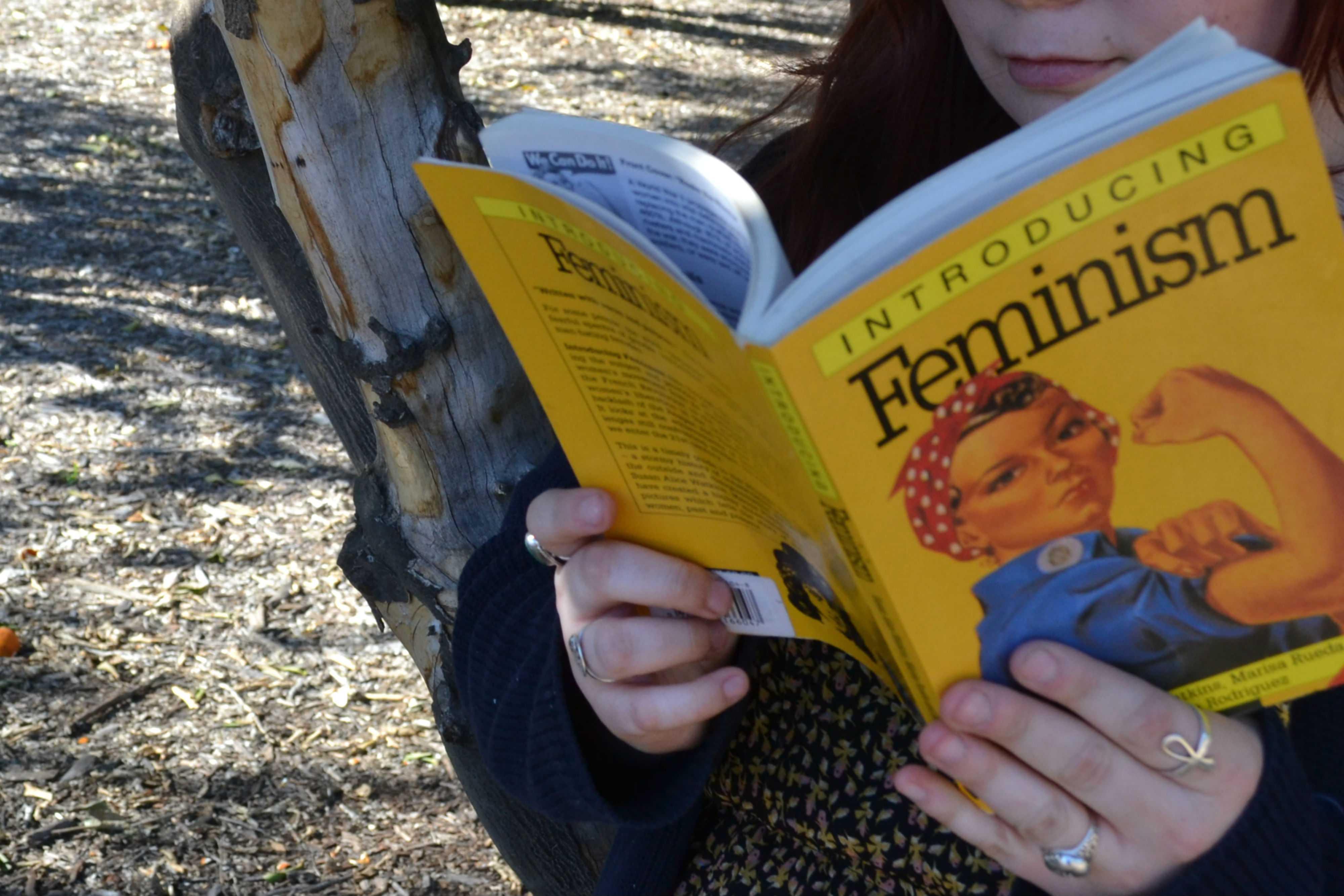 yellow feminism book cover