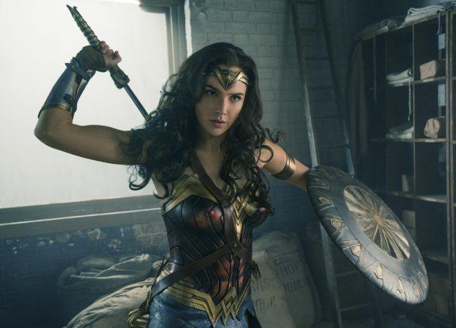 Gal Gadot as Wonder Woman in