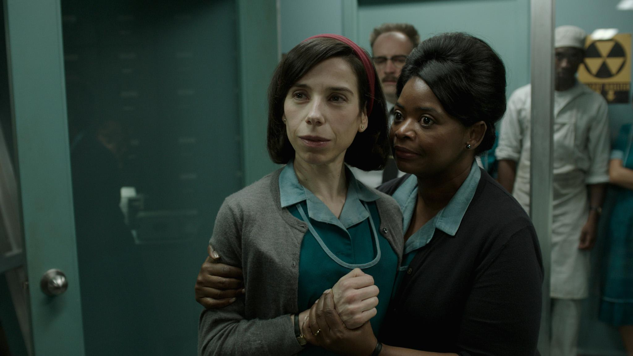 Sally Hawkins and Octavia Spencer in the film