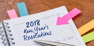 planner reading 2018 New Years Resolutions