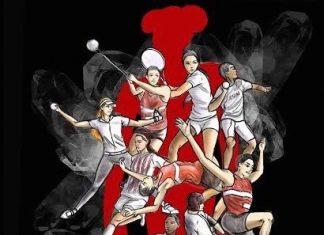 various athletics drawn