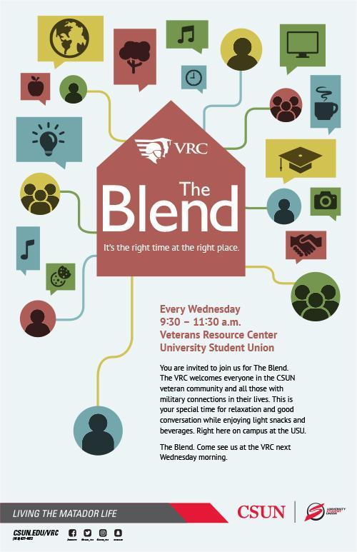 The Blend flyer