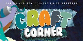 Craft Corner informational poster