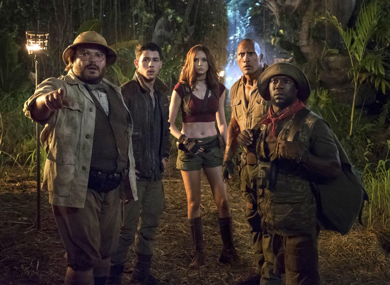 Jack Black, Nick Jonas, Karen Gillan, Dwayne Johnson and Kevin Hart star in the film,