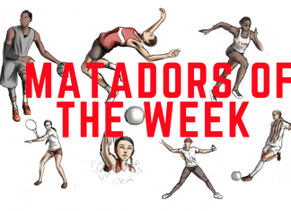 Matadors of the Week logo