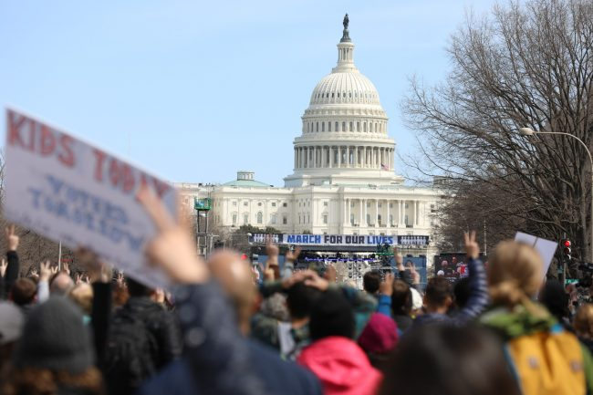 The new generation's March on Washington
