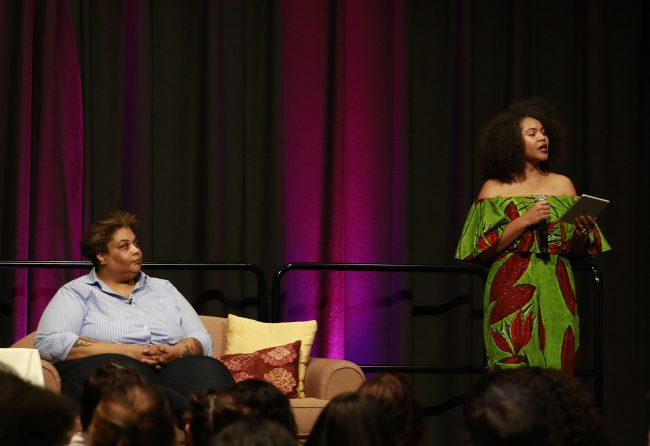 Writer Roxane Gay gets deep with CSUN students