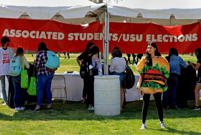 A.S. and USU election organizers hope for high turnout