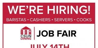 red advertising about jobs
