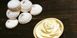 butter dessert in cup