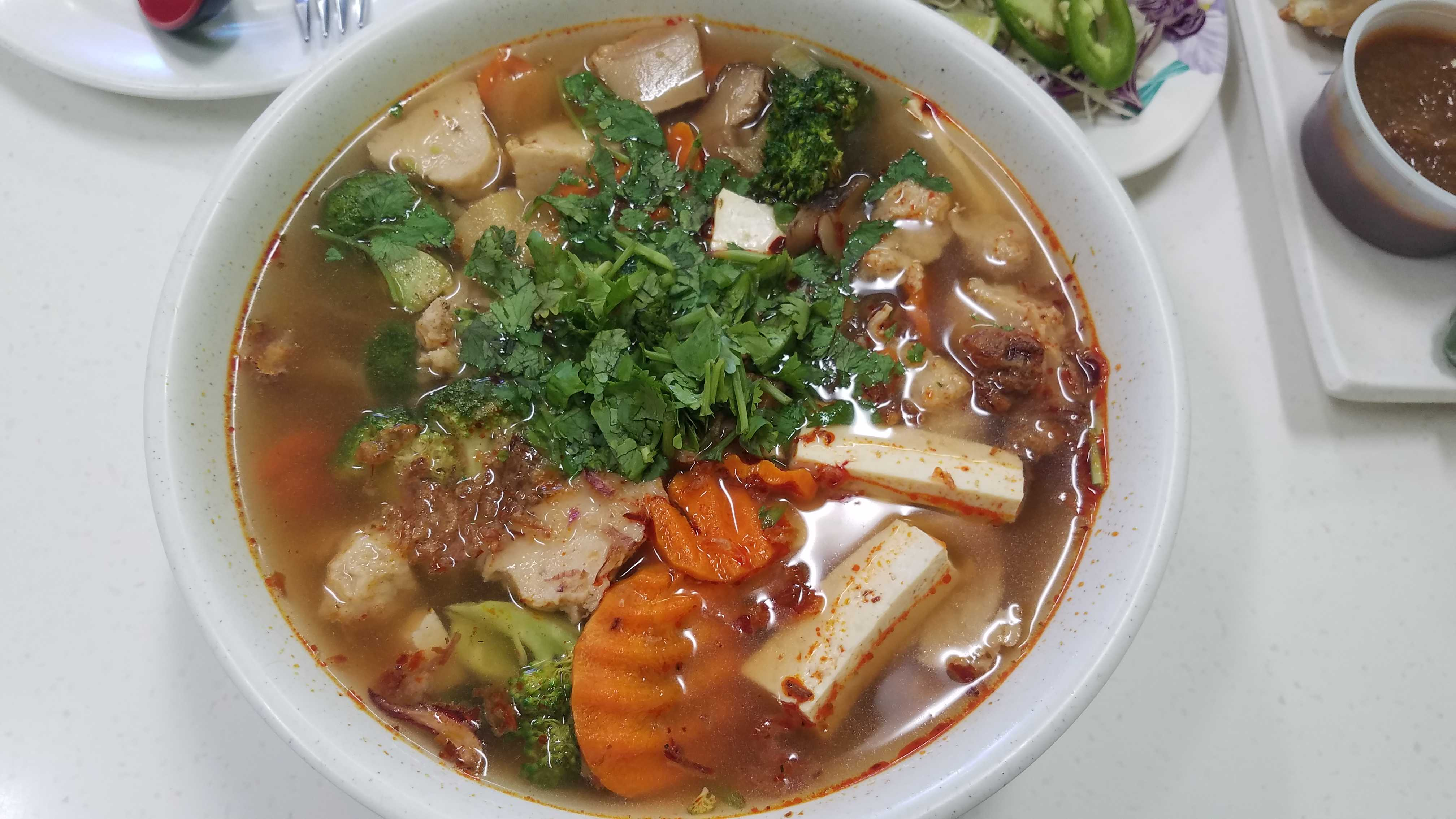 The Spicy Soup from Vinh Loi Tofu. Photo credit: Christine Martinez