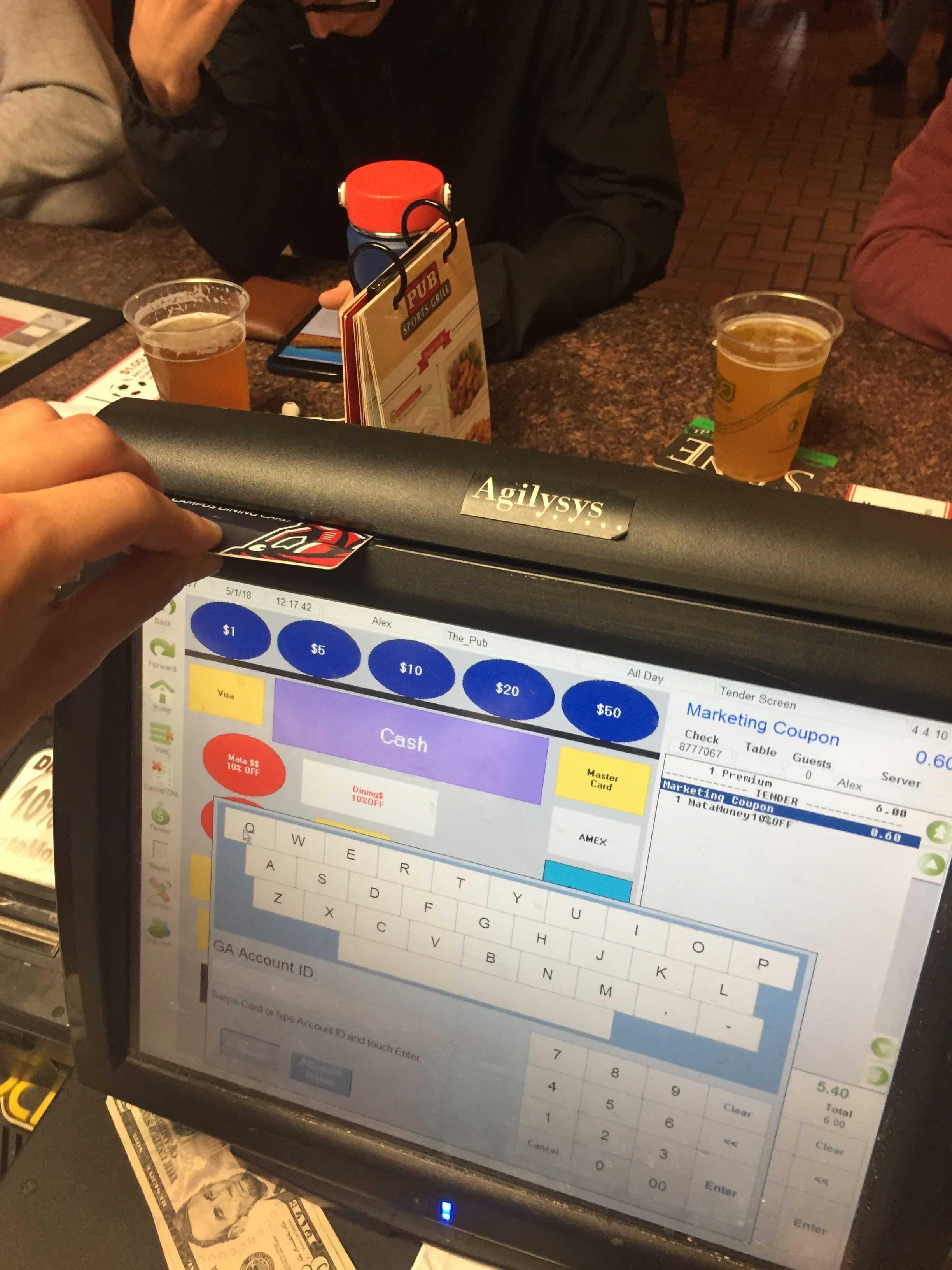 fast food computer