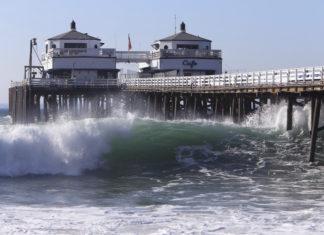 pier by the ocean