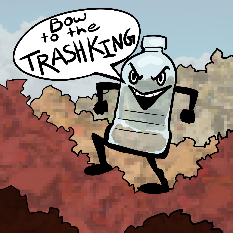water bottle cartoon