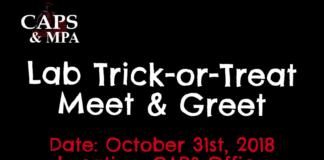 Halloween meet and greet