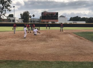 csun baseball team on field