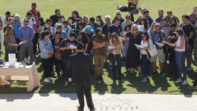 Jewish community honors lives lost