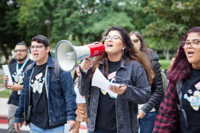 Students walk out of meeting with CSU chancellor