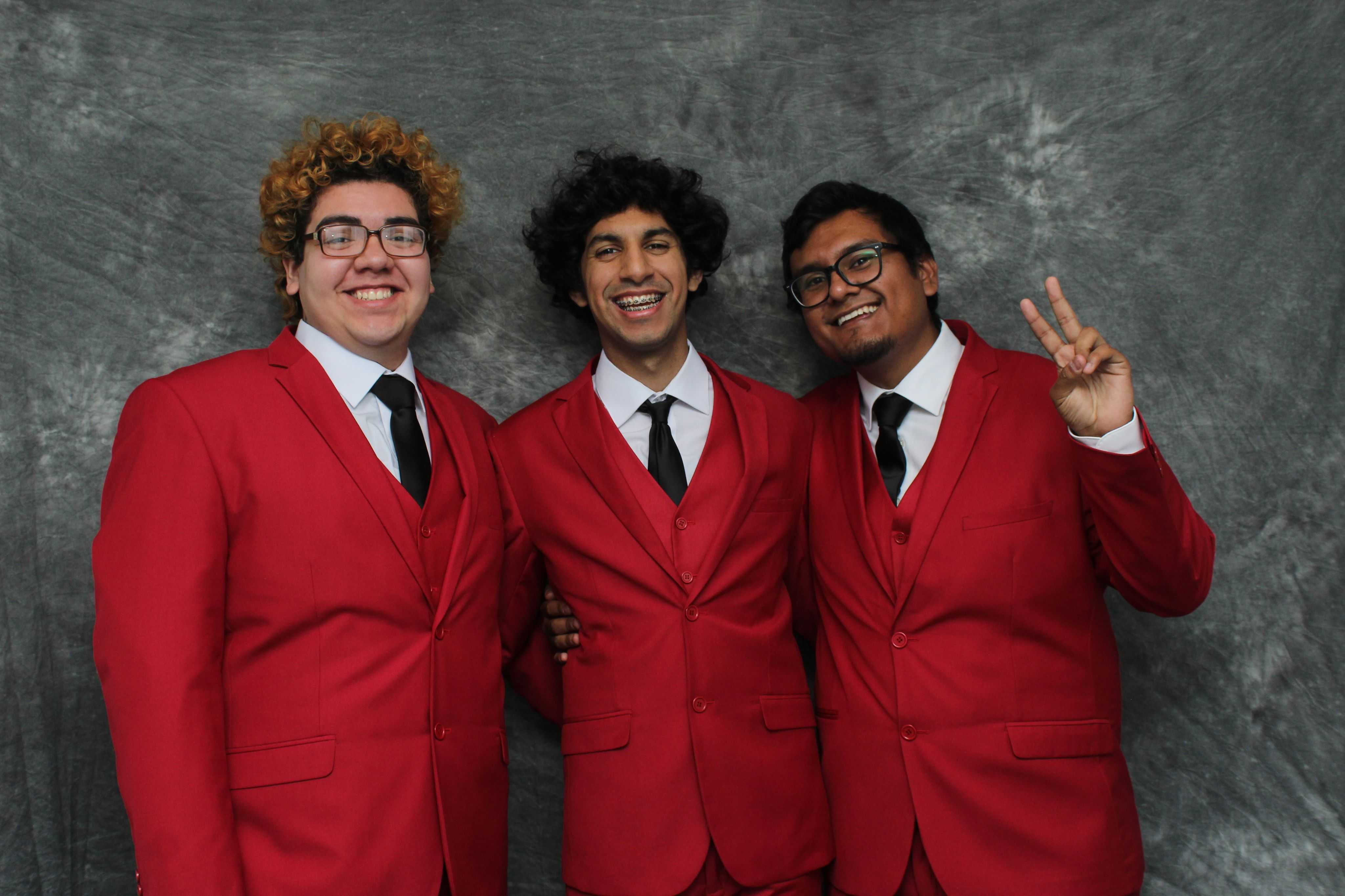 Henry Vargas, Jorge Corona and Patrick Juarez, compose the trio known as The Red Pears. Photo Credit: Courtesy of The Red Pears