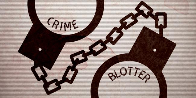 Crime Blotter 10/16 – 10/22