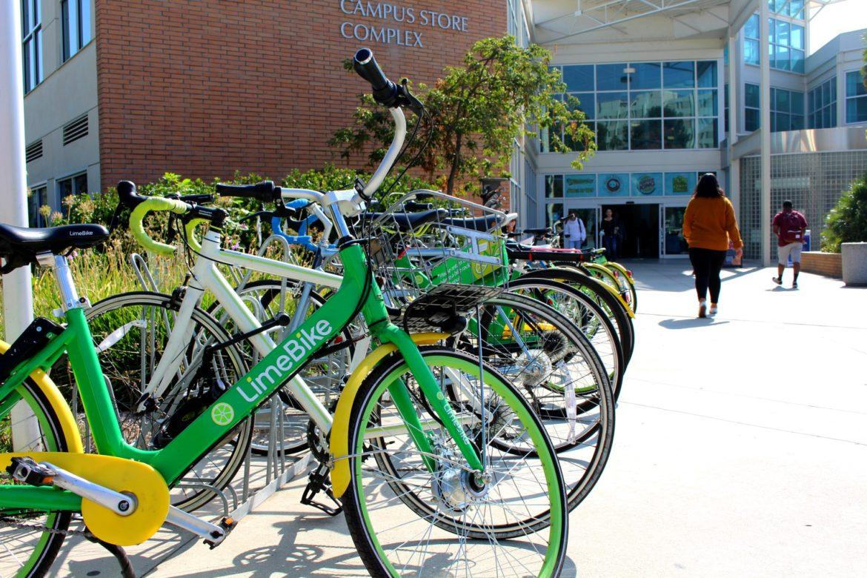 Lime Bike Racks