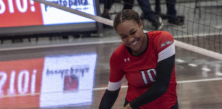 csun woman volleyball player