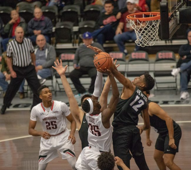Men's basketball drops the ball in loss to Portland