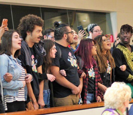 csun students protesting