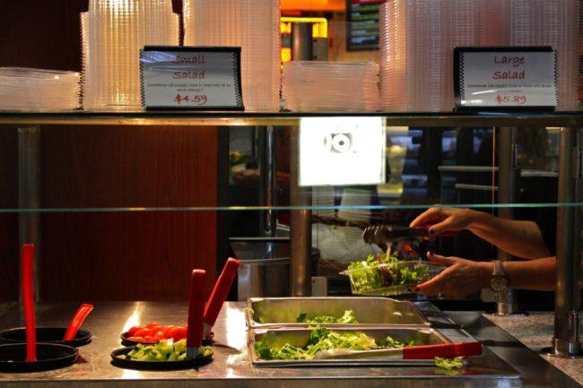 Five healthy grub spots on campus