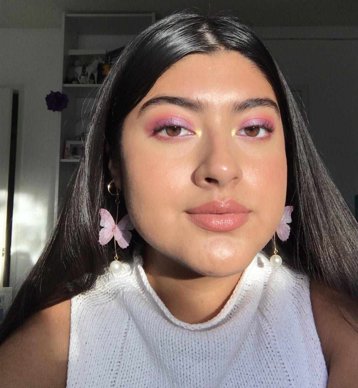 latina girl with makeup