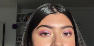 latina girl with makeup