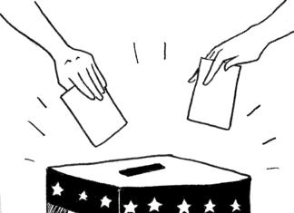 vote ballot cartoon
