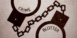 Crime Blotter (Calendar Advertisement)