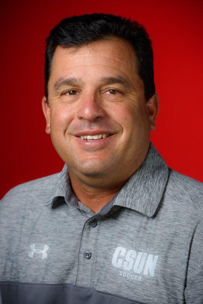 A CSUN Athletic department staff