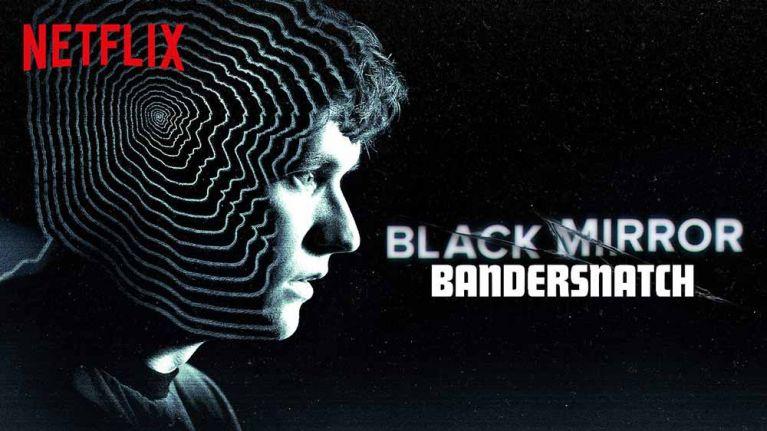 A calendar advertisement of a Netflix movie (Black mirror- bandersnatch)