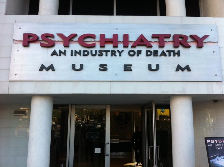 A picture of the front side of Psychiatry An industry of Death Museum