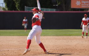 A CSUN Women's Softball pitcher