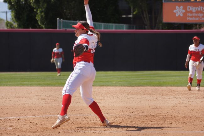 Softball impresses in weekend action