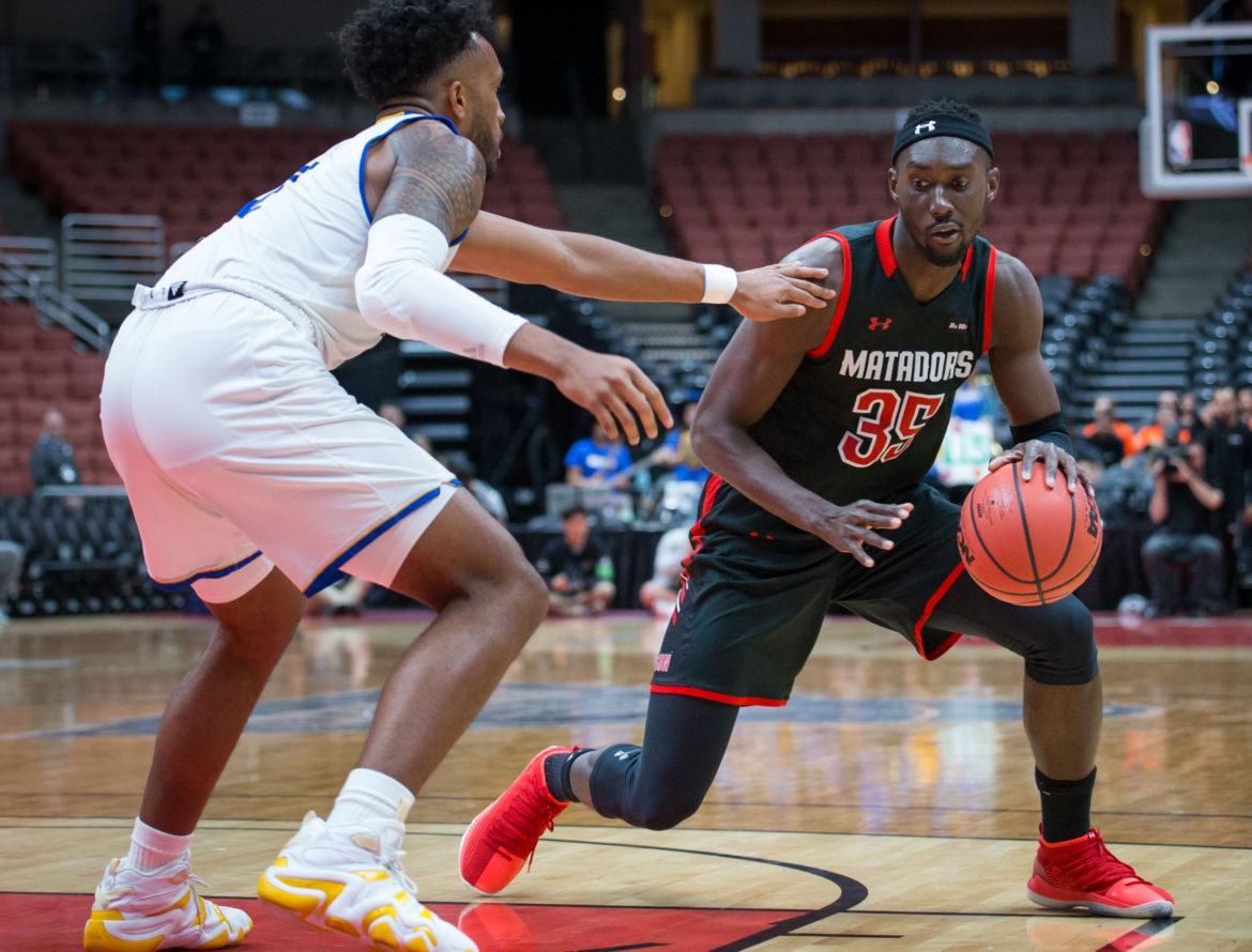 Lamine Diane, a former CSUN basketball player, is the latest to join the NBA's Philadelphia 76er's.