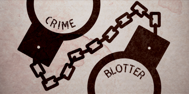 Crime Blotter 3/4 – 3/11