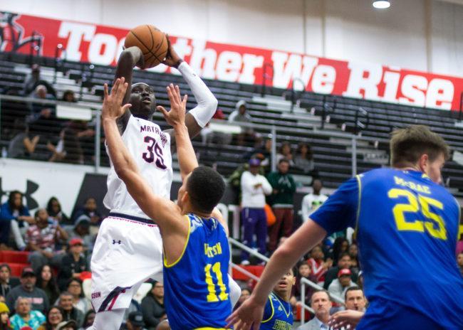 Irvine beats CSUN in regular season finale
