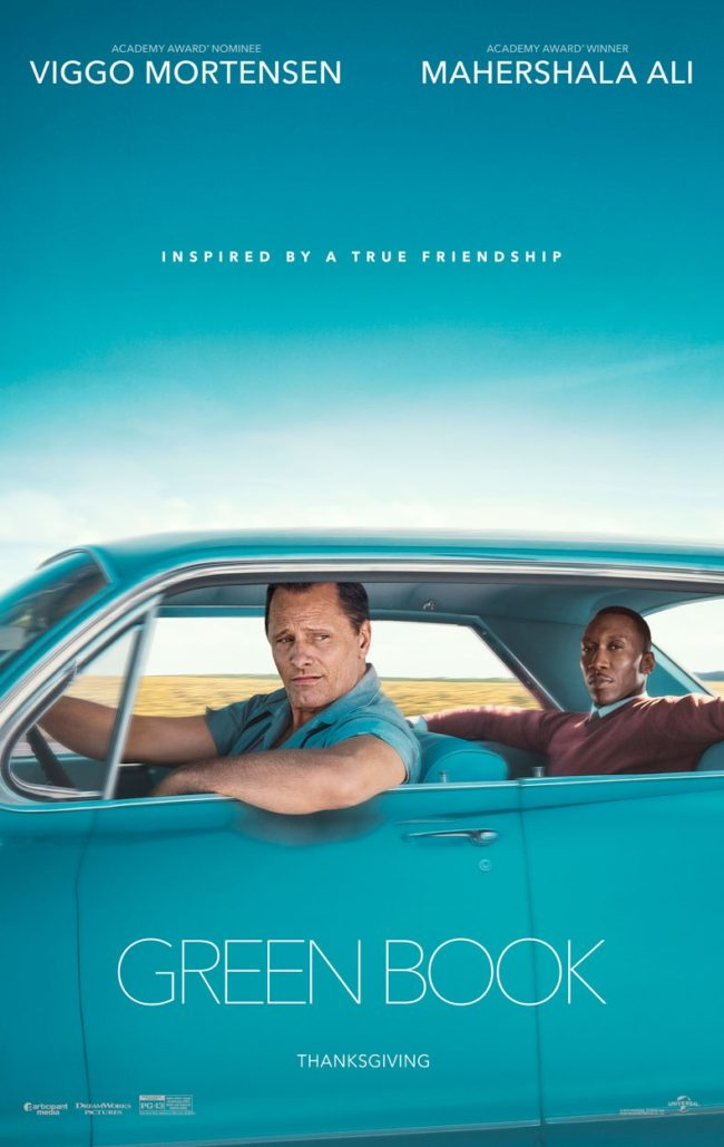 A movie poster (Green Book)