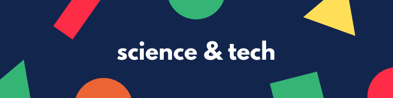 A calendar advertisement (Science and Tech)