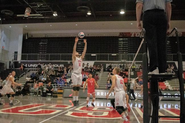 Men's volleyball drops sixth straight conference game