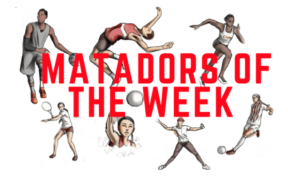 Calendar advertisement (Matadors of the week)