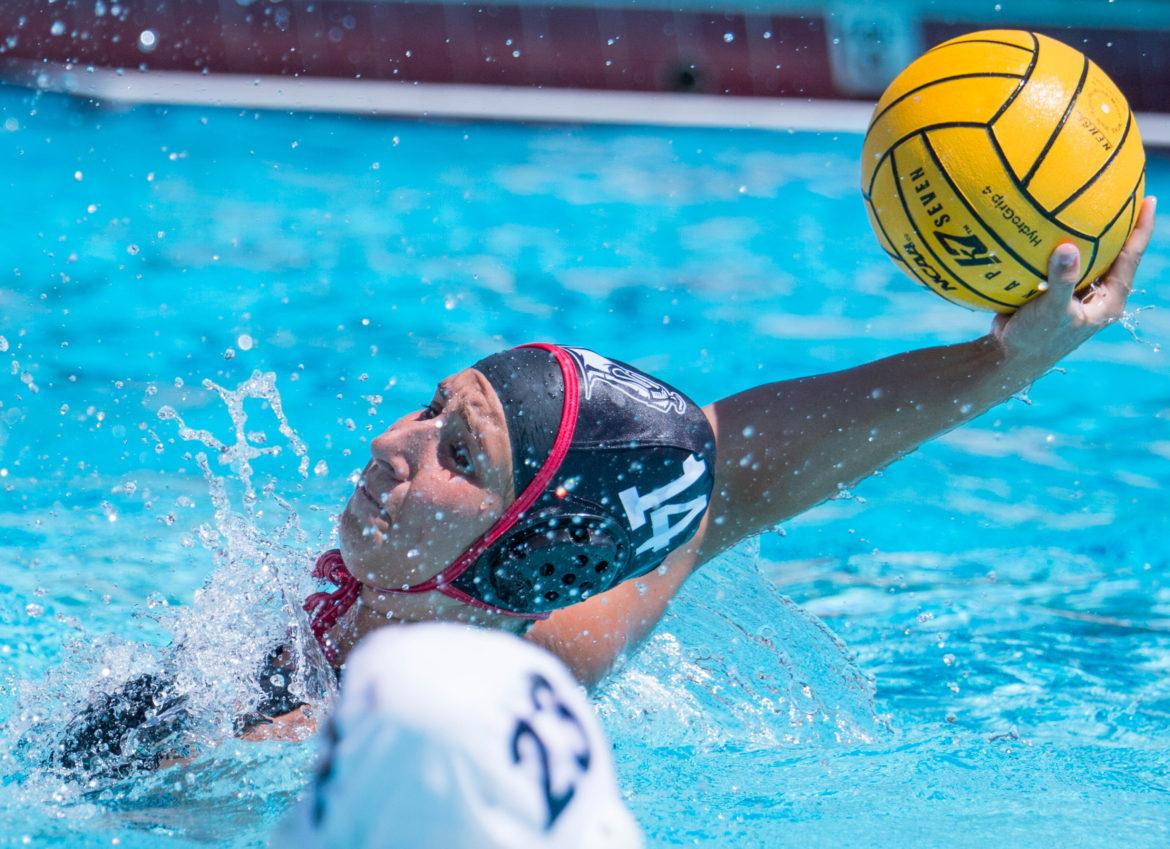 A CSUN Women's Water Polo player