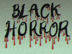 A calendar advertisement (Black Horror)